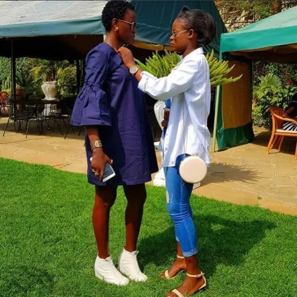 18 adorable photos of Akothee's baby sister that prove beauty runs in their family