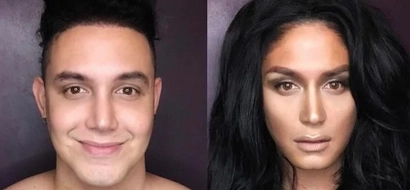 Paolo Ballesteros transforms to a confidently beautiful candidate with a heart