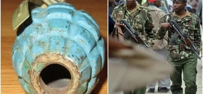 Panic after dead grenade is found in residential compound