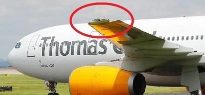 Broken wing plus low oil alert. Plane had to do an emergency landing!