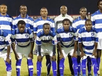 AFC Leopards players carry Ugali to Madagascar