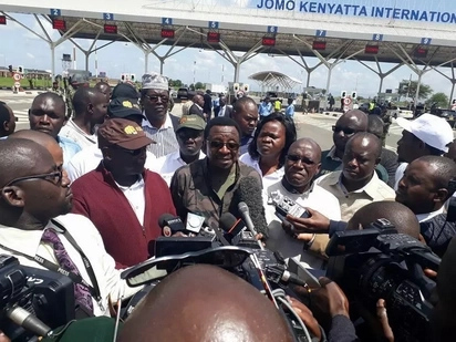 Vingozi wa NASA waandaa mbinu mpya ya kumlaki kiongozi wao, Raila Odinga