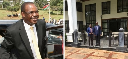 Inside Kidero's posh compound and his towering palace (photos)