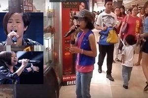 Former The Voice Kids contestant spotted in a Cavite mall singing in viral video!