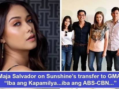 Naglabas na rin siya ng saloobin! Maja Salvador finally airs out her feelings on Wildflower co-star Sunshine Cruz's move to GMA