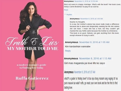 Nabash si ate! Harshest netizens' reactions to Ruffa Gutierrez book about finding love