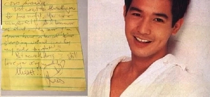 The lost art of letter writing revived in Rico Yan's last note to Claudine