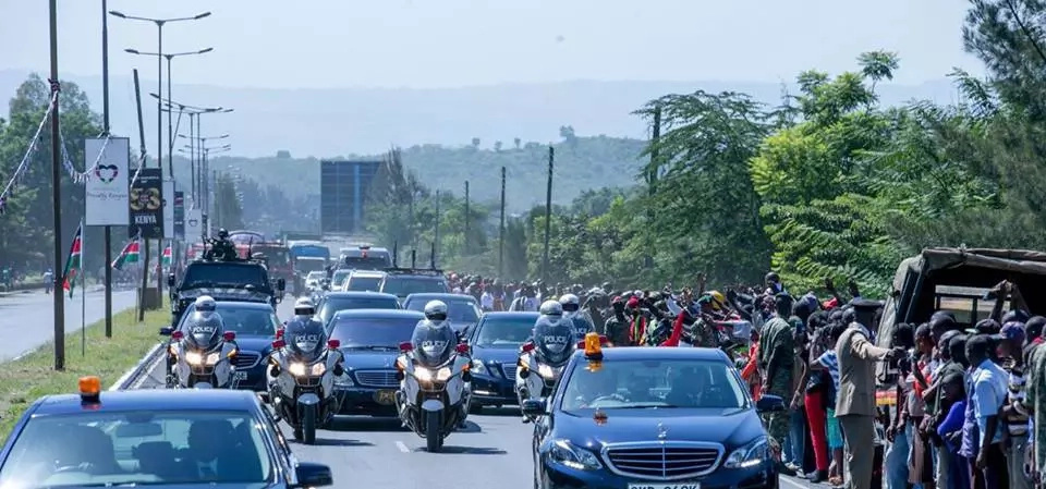 Police grill man who slipped past Uhuru's security to greet him