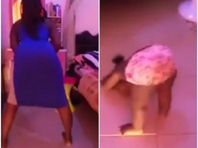 Woman lashed at for uploading inappropriate twerking video