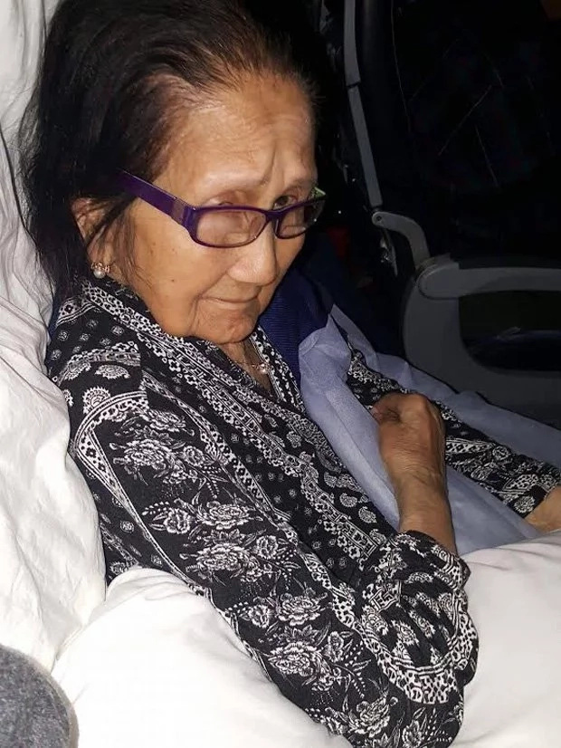 Airline staff too harsh to 94-year-old lola