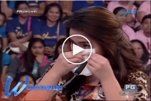 Beautiful Igorot contestant wows Willie Revillame with her dedication