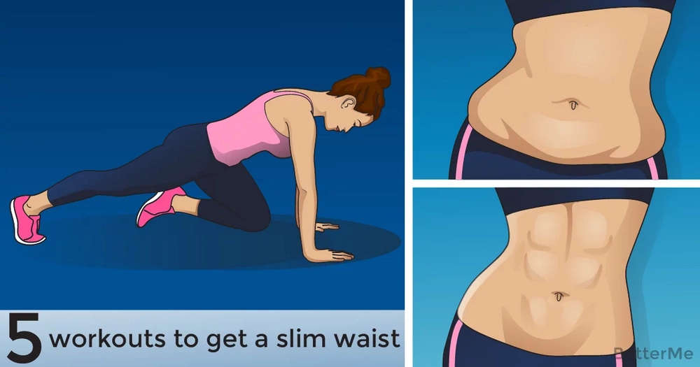 5 workouts to get a slim waist