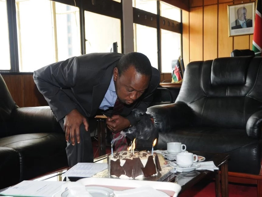 Happy Birthday! Uhuru Kenyatta was once a bank teller at KCB