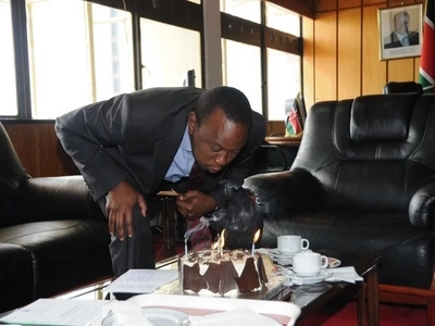 Happy Birthday! Uhuru Kenyatta was once a bank teller at KCB and was paid KSh 600