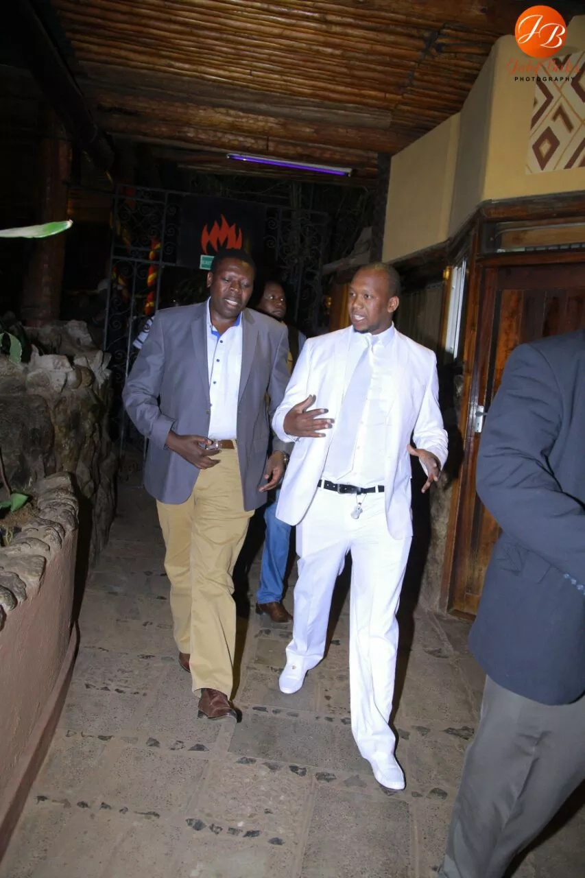 Eugene Wamalwa takes time off politics and graces Sabala Nite event