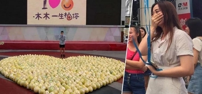 Chinese man's bittersweet confession to long-time crush included 999 pomelos