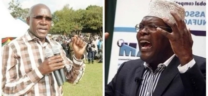 Miguna blasts Khalwale for allegedly lying about speaking to the Canadian Commission on his behalf during his detainment, details