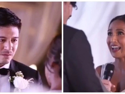 Wedding goals! Take a peek at Rochelle Pangilinan and Arthur Solinap's touching wedding video