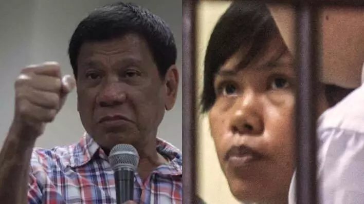 Duterte might visit drug convict Mary Jane Veloso