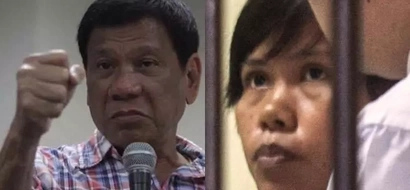 Duterte has a message to Mary Jane Veloso; here's what the president told her