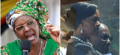 Zimbabwe police arrest reporter over story alleging that Grace Mugabe donated used underwear