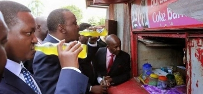 The four Kenyans followed by Uhuru on twitter