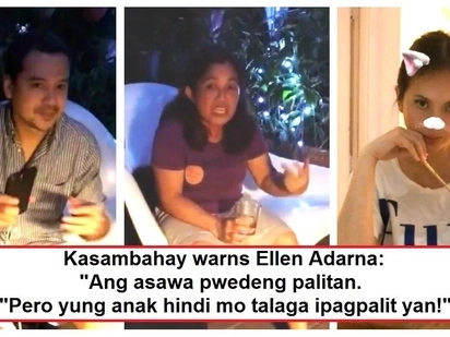 Ellen Adarna receives a warning from her yaya about being a wife and a mother during her dinner date with John Lloyd Cruz