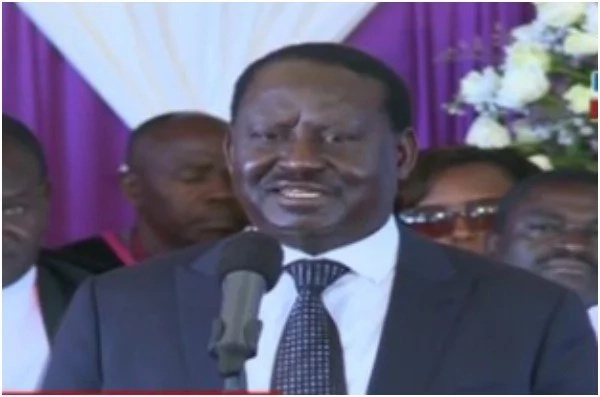 Kenyans need help and they need it now- Raila Odinga