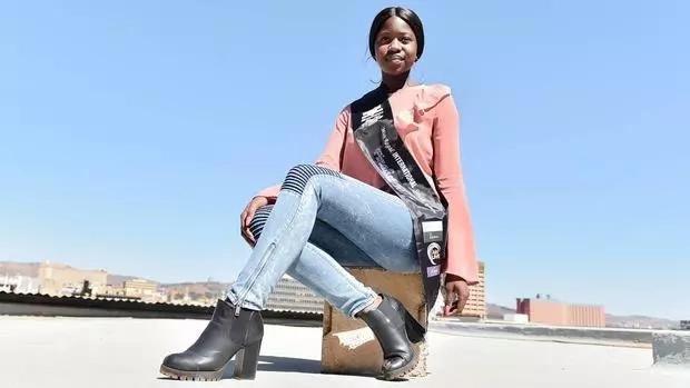 Tintswalo Mnishi hopes to inspire other dark-skinned girls. Photo: IOL News