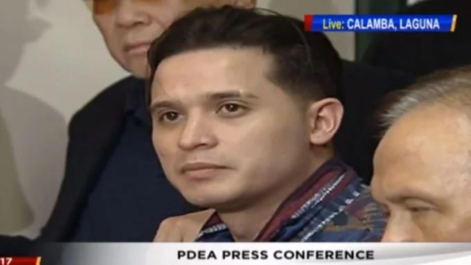 Cogie Domingo strongly denies using, selling drvgs; claims he was set up