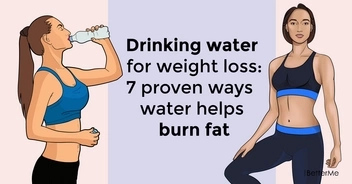 Drinking water for weight loss: 7 proven ways water helps burn fat