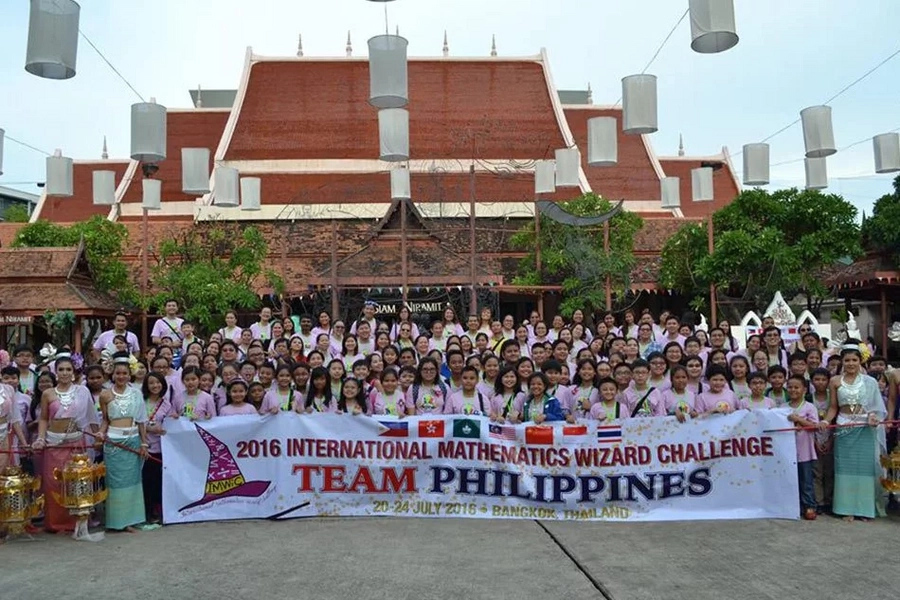 Filipino students win 240 medals at int'l math competition