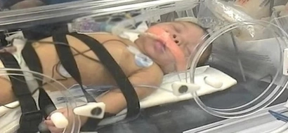 Maestros de primaria salvaron la vida de bebé de 2 meses, 2 veces
