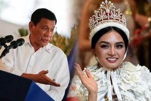Inis talaga siya! Duterte pinuri ang gandang Pinay, ininsulto ang 'pangit' na CHR