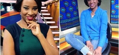 Citizen TV's Kanze Dena steps out without makeup for the first time and she is beautiful AF (Photos)