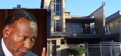 Photos of the swanky Karen home where the late Joseph Nkaissery lived with his wife