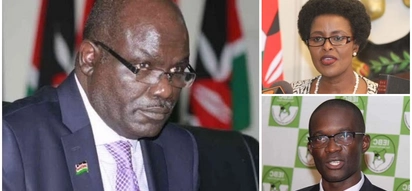 Chebukati moves to salvage IEBC from falling apart amid storm following Chiloba's suspension