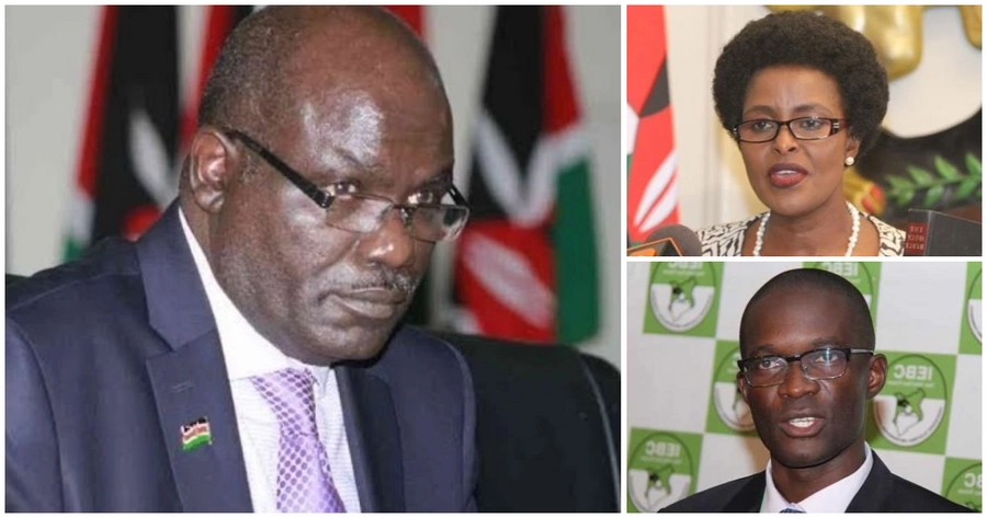 IEBC boss Wafula Chebukati differed with his Vice Chair Consolata Maina over Ezra Chiloba's compulsory leave.