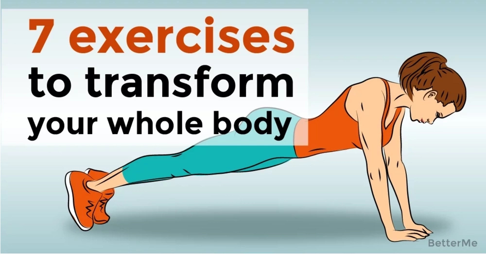 7 exercises that can transform your whole body