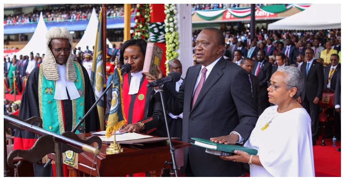 US, UK react after Uhuru's pompous swearing-in ceremony
