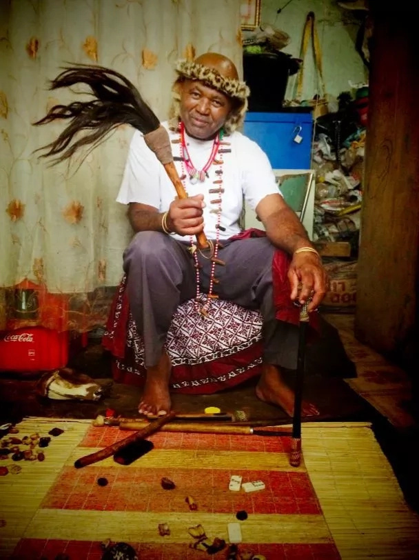 Traditional Herbalist discloses the little known 'magic charms' he gives politicians to win elections