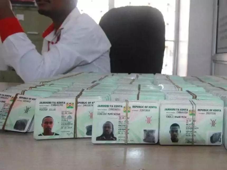 Mbunge wa ODM na nduguye wanaswa wakiwa na vitambulisho 1,000