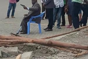 Jubilee Senator in gun drama at busy Petrol Station in Naivasha