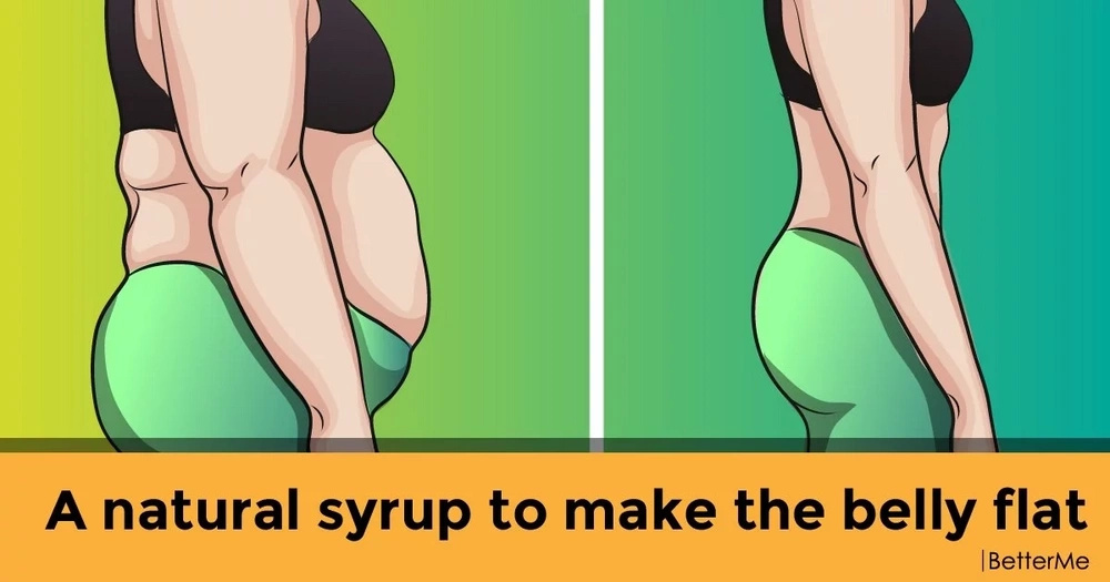 A natural syrup to make the belly flat