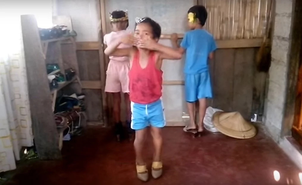 Hindi ba mahirap yung ginawa nila? Video of kids in high heels went viral