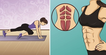 9 effective exercises for a flat stomach