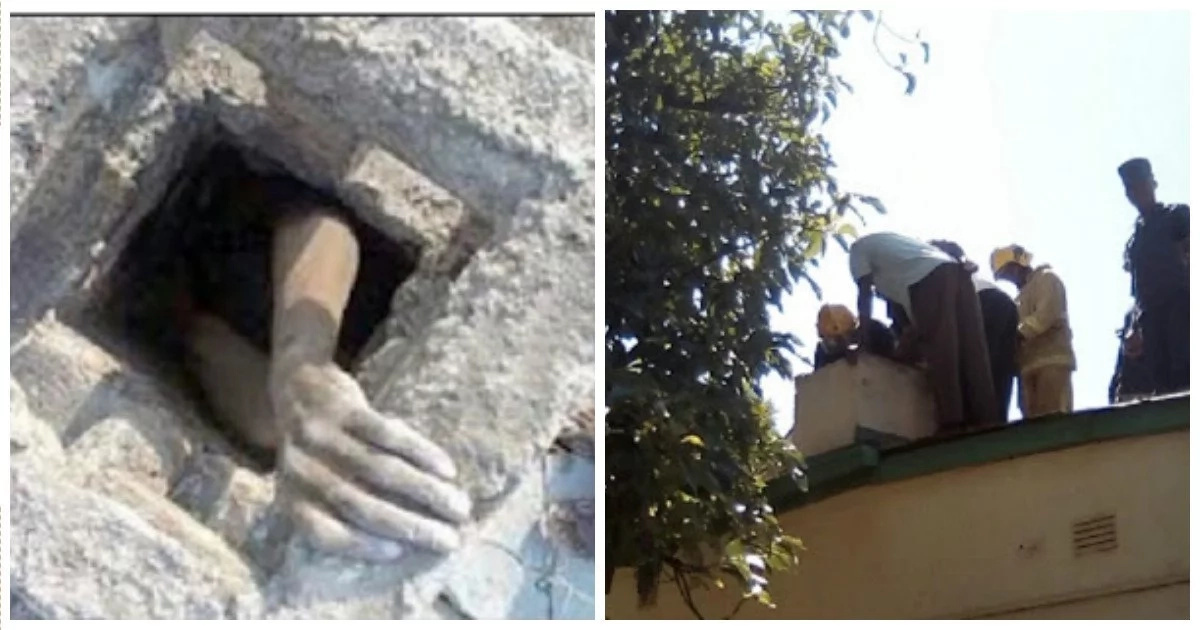 Thief gets stuck in house he went to steal from for 2 DAYS, then this happens (photos, video)