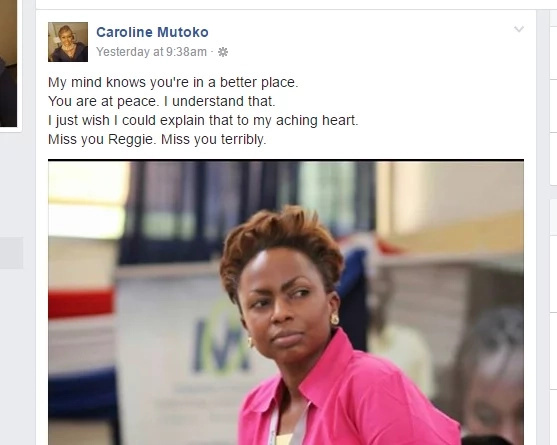 Caroline Mutoko remembers her late sister with an emotional post on Facebook