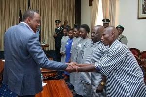 Prisoner who was released by Uhuru Kenyatta shocks residents by stealing from church