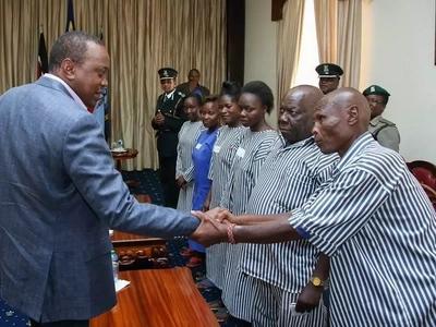 Prisoner released by Uhuru Kenyatta does the unthinkable in church